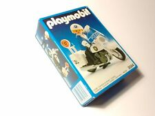 PLAYMOBIL 3564 Moto de Policia 1990 Vintage Collector NEW in BOX / NUEVO en CAJA