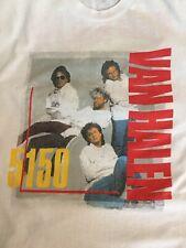 Van Halen Sammy Hagar 5150 Tour T-Shirt M Vintage Bill & Ted Keanu Reeves 1986 L