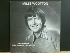 MILES WOOTTON  The Great Fish Finger Disaster  LP  Folk Comic    UK    SIGNED!