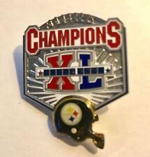Super Bowl XL Champions Steelers Raised Helmet Pin