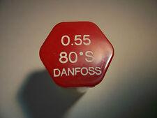 Brennerdüse Danfoss 0,55/80°S  Vollkegel Düsenwechsel reduziert den Ölverbrauch