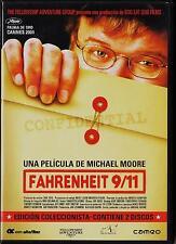 Michael Moore: FAHRENHEIT 9/11 Ed Col 2 DVD España: tarifa plana envíos DVD, 5 €