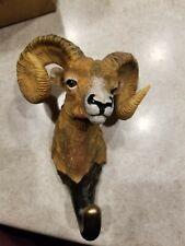 Wild Wings Terry Redlin Big Horn Sheep Coat Hat Hanger