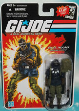 G I GI JOE 25TH ANNIVERSARY ARCTIC TROOPER SNAKE EYES W/ PARKA FIGURE MOC