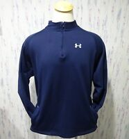 Under Armour Half Zip Blue Men's Pullover Sweat Jacket Size 2XL