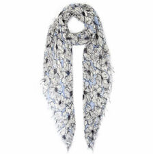 Chan Luu Coconut Milk Anemone Blooms Floral Print Cashmere And Silk Scarf