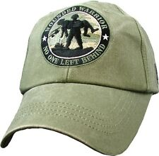Wounded Warrior Military Hat Baseball Cap ODG (No One Left Behind)
