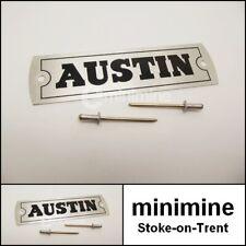 British Classic vender coches. Austin Junior 40 Metal Cartel De Publicidad