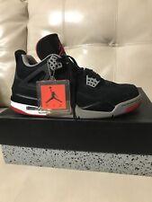 ... order air jordan4 retro black cement grey fire red noir gricin rouge  men 45c97 23ed5 713c3af12