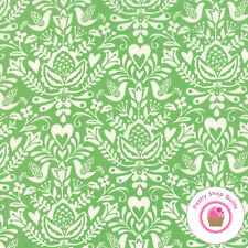 Moda NORTH WOODS Spruce Green 27242 26 Kate Spain QUILT FABRIC Christmas