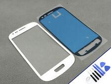 FRONTGLAS für SAMSUNG Galaxy S3 MINI WEISS Glas Display Touchscreen NEU & OVP