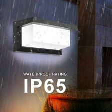 More details for 18w led pir motion sensor wall light sconce outdoor garden lamps waterproof ip65