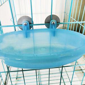 Parrot Bathtub Pet Cage Accessories Bird Bath Shower Box Bird Cage*OI