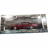 Greenlight Fast And Furious 6 Dom's 1969 Dodge Charger Daytona Maroon 1:43 86221