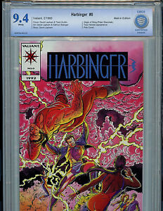 Harbinger Pink Premium Issue #0 CBCS 9.4 NM Valiant Comics B1