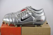 Nike Air zoom total 90 III FG Talla 45 1/2 UK 10,5 Classic Boots Chrome Soccer