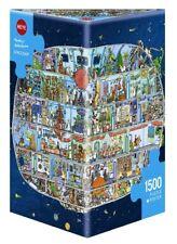 MATTIAS ADOLFSSON - SPACESHIP - Heye Puzzle 29841 - 1500 Teile Pcs.
