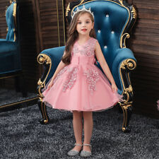Kids Girls Wedding Party Dress Prom Bridesmaid Birthday Pageant Formal Ball Gown