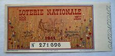 ANCIEN BILLET DE LOTERIE NATIONALE 1941 / 18e TRANCHE / M. BOURDON