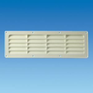 White plastic exterior vent for Hit & Miss 5044.31 for caravan and motorhome