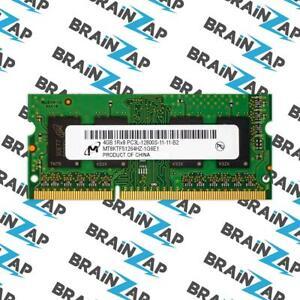 4GB DDR3 RAM Micron MT8KTF51264HZ-1G6E1 SO-DIMM - 1Rx8 PC3L-12800S-11-11-B2