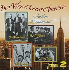 DOO WOP ACROSS AMERICA  THE WILLOWS/THE VALENTINES/THE NUTMEGS/+  2 CD NEU