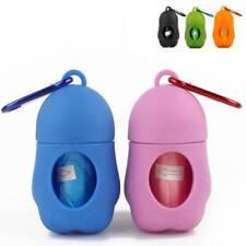 Pet Dog Poop Bag Dispenser Waste Bags Carrier Holder Dispenser With Waste bags e