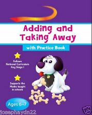 NEW  GOLD STARS age 6-7 ADDING and TAKING AWAY (with PRACTICE BOOK)