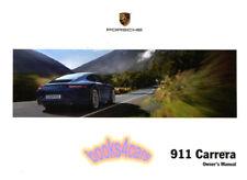 911 OWNERS MANUAL 2013 PORSCHE BOOK