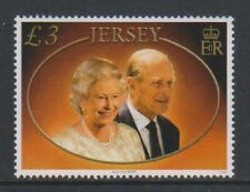 Jersey - 2007, £3 Diamond Wedding stamp - MNH - SG 1349