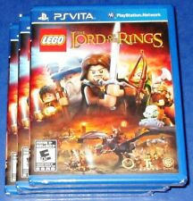Lot of 3 LEGO The Lord of the Rings PlayStation Vita Factory Sealed! Free Ship!