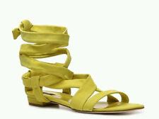 NEW Bally Gisa Suede Ankle Wrap Sandal Size: EU38/US7.5M