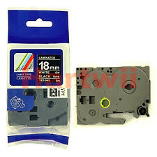 Brother TZ-344 P-Touch Compatible Gold on Black Label Tape 18mm 8m TZ-e344