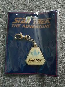 Star Trek 'The Adventure' Metal key ring