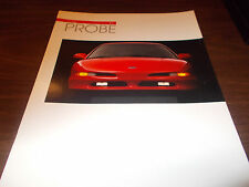 1993 Ford Probe 22-Page Sales Catalog