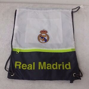 Real Madrid White & Gray Color Official Licensed Cinch Bag