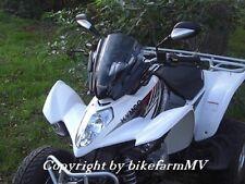 Quad ATV Scheibe RACE schwarz KYMCO MXU Maxxer 250 300 400 Adly 320 Hurricane Ca
