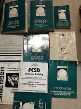 1998 FORD CONTOUR & MERCURY MYSTIQUE Service Shop Repair Manual SET W  LOTS OEM