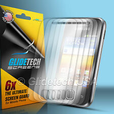 6x Clear Screen Protector Guard Film Shield Kit For Samsung Galaxy Y S5360