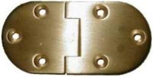 English Butler Tray Hinge - Brass   B1751