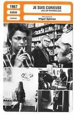 FICHE CINEMA : JE SUIS CURIEUSE - Nyman,Sjöman 1967 I Am Curious (Yellow)