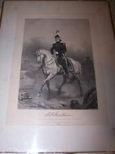 Eminent Americans Engraving Military John Anthony Quitman - Alonzo Chappel 1862