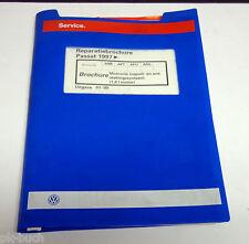 Reparatiebrochure VW Passat B 5 Motronic inspuit- en ontstekingssysteem 1,8 L