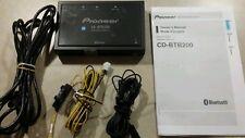 Pioneer Bluetooth Wireless Adapter CD-BTB200 Blue tooth Hands Free CDBTB200