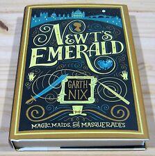 GARTH NIX NEWT'S EMERALD SIGNED 1st PRINT NEW & UNREAD