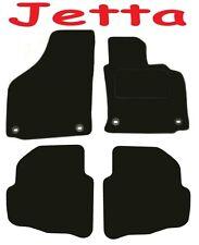 Deluxe Su Misura Qualità Tappetini Auto VW JETTA 2005-2011 ** NERO ** Saloon