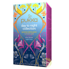 Pukka day to night collection infusions et tisanes ayurvédiques Bio