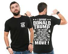 Donald Trump T-shirt Supporter US Potus President Republican Trump 45 Tshirt