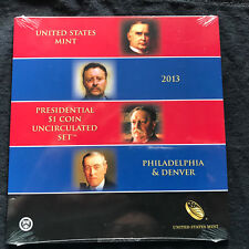2013 Presidential Dollar Coin Uncirculated Set SEALED XE7 ** Free Shipping **