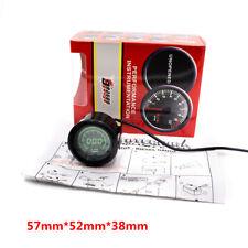 """2""""/52mm 7 Colors Digital RPM LED Tachometer Gauge for 4 / 6 / 8 Cylinder Cars"""